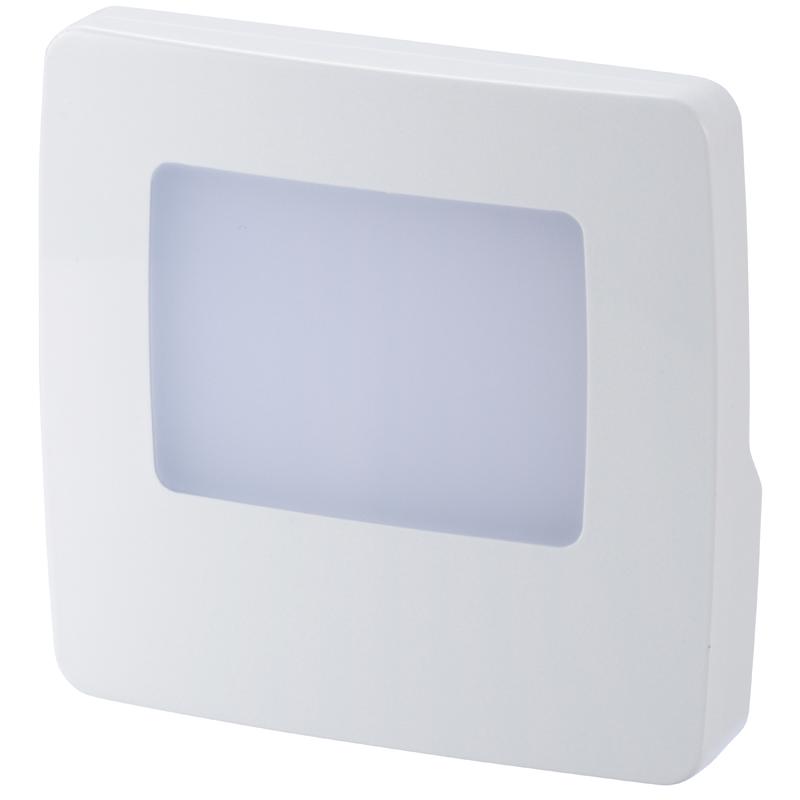 ナイトライト フットライト LEDナイトライト 常夜灯 足元灯 安全灯 補助灯 寝室 廊下 薄型 07-8415 コンセント差込 オーム電機 室内用 日本未発売 玄関 NIT-ALA6MS-WN 白色LED 大人気!