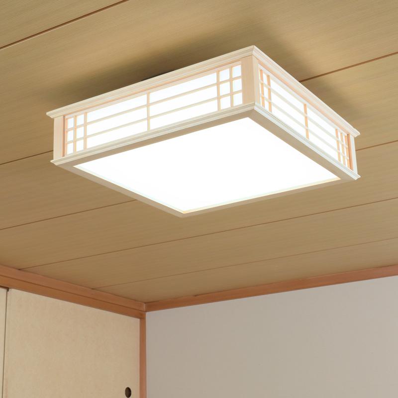 LED和風シーリングライト 調光 8畳用 昼光色 LE-W30D8K-K 06-0654 オーム電機