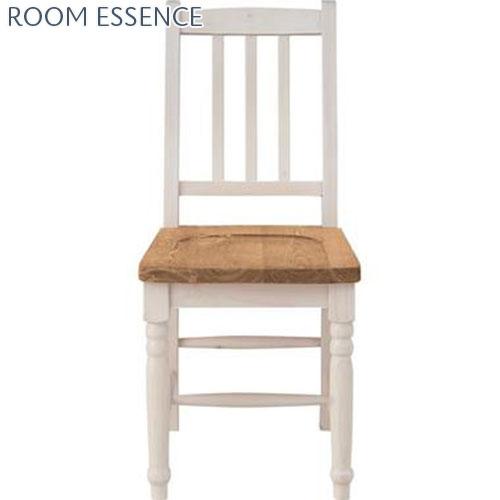 『 ダイニングチェア 』椅子 いす イス チェア チェアー ダイニングチェアー 食卓椅子 天然木 木製 シンプル オシャレ おしゃれ アンティーク調 レトロ 座面高約40センチ 幅約40 ダイニング 部屋 カラー 色 ツートン ナチュラル系 白 かわいい