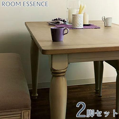 【お得な2脚セット】 ダイニングチェア ダイニングチェアー チェア 椅子 イス 食卓椅子 食卓いす 食卓イス クッション 木 木製 ウッド シンプル モダン ナチュラル カントリー フランス フレンチ ホワイト 白 クラシック ロマンティック ロマンチック おしゃれ
