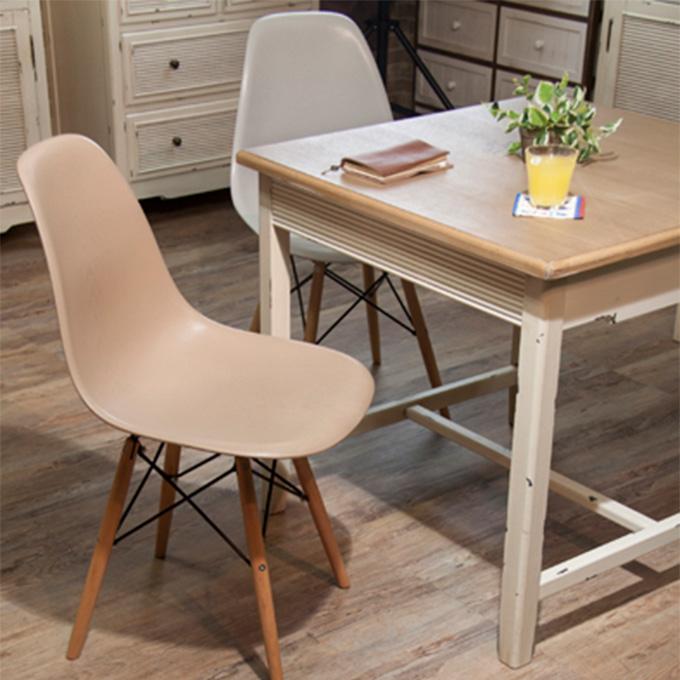 『チェアー』椅子 いす イス ダイニングチェアー カフェチェアー おしゃれ 可愛い かわいい 北欧 シンプル ナチュラル カントリー風 木製 天然木使用 ダイニング 子ども部屋 子供部屋 レストラン カフェ 店舗用 シェルチェアー風 イームズ風 Eames風