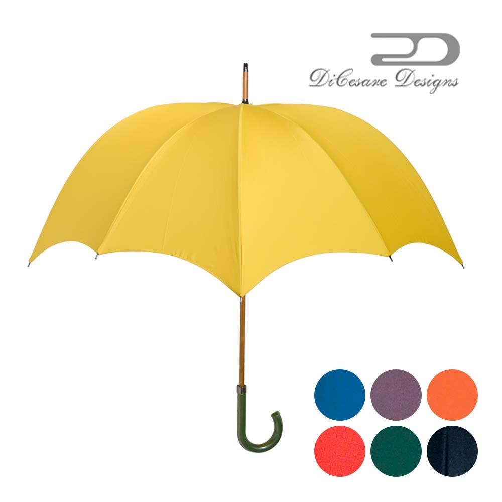 日本製 デザイナーズブランド 傘 DiCesare Designs GRANDE ディチェザレ デザイン グランデ 『one tone』 男性用 雨傘 かさ カサ おしゃれ お洒落 紳士用 深張り ドーム型 102cm クリスマス プレゼント
