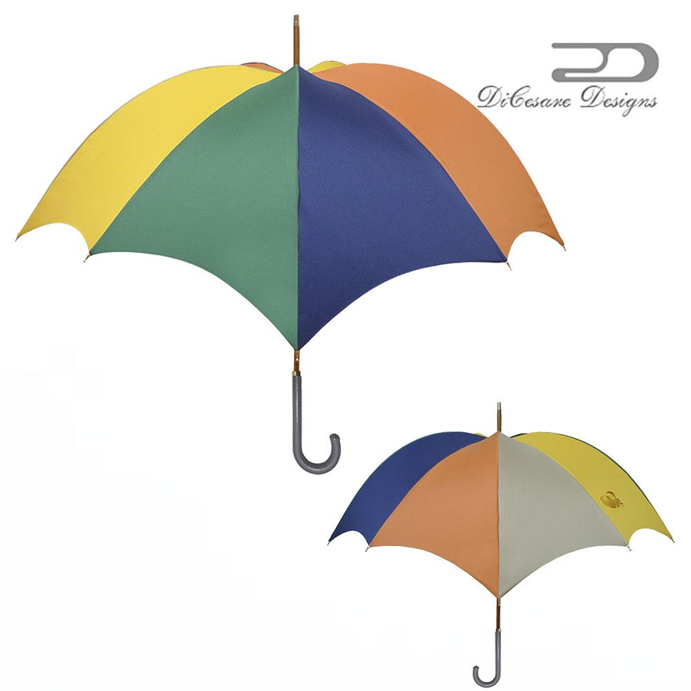 【 大人のための、大人の雨傘 】『Rhythm Pumpkin 雨傘 ladies M E Z Z O』雨傘 DiCesare Designs ディチェザレ デザイン 傘 レディース ブランド おしゃれ 長傘 日本製 お洒落 かわいい プレゼント 軽量 軽い 丈夫 大きい