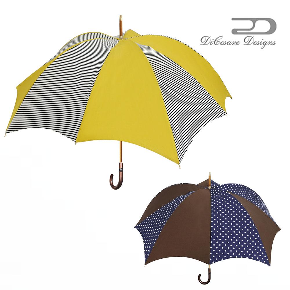 【 大人のための、大人の雨傘 】『Rhythm Pumpkin 雨傘 ladies fireworks』雨傘 DiCesare Designs ディチェザレ デザイン 傘 レディース ブランド おしゃれ 長傘 日本製 お洒落 かわいい プレゼント 軽量 軽い 丈夫 大きい