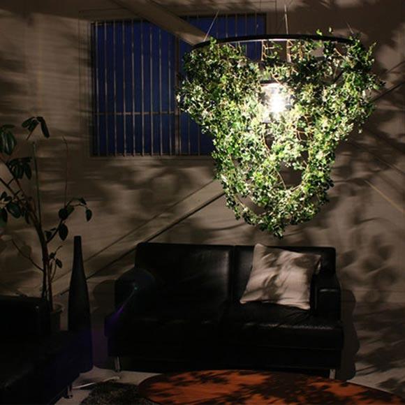『 フォレスティ グランデ ペンダントランプ 』ペンダントライト 間接照明 照明器具 インテリアライト 天井照明 照明 ライト LP2360GR インテリア 家具 リビング 明かり 光源 蛍光灯 ランプ 吊り下げ ぶら下げ ワイヤー