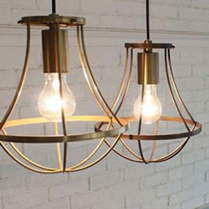 照明 ジェンマ ペンダントライト ペンダントランプ 天井照明 LED 4畳 4.5畳 4畳半 100W 1灯 真鍮 シンプル ペンダントランプ おしゃれ 一人暮らし リビング 寝室 アンティーク調