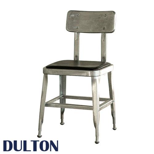 DULTON ダルトン スタンダードチェアー ガルバナイズド ダイニングチェア イス 椅子 スチール椅子 スチールチェア ダイニングチェアー 食卓椅子 ガーデンチェア ガーデンチェアー スチール製 背もたれ付き おしゃれ かっこいい シンプル ダイニング カフェ 飲食