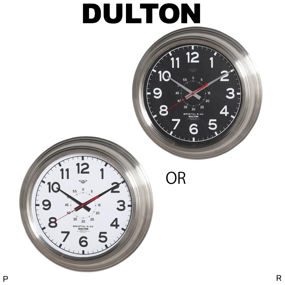 ウォールクロック (ブリストル S-40 ) WALL CLOCK (BRISTOL S-40 ) 最上級に男性的なウォールクロック bk/wh 時計 壁掛け時計 白黒時計 クロック ウォールクロック シンプル時計 掛け時計 アナログ時計