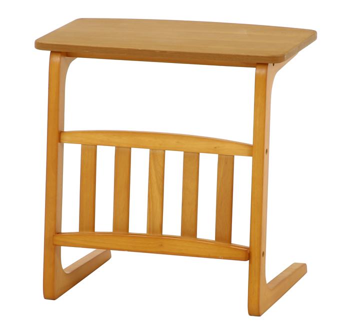 『 サイドテーブル 』ソファーテーブル ソファテーブル ベッドテーブル ミニテーブル ナイトテーブル 台 テーブル マガジンラック ベッドサイドテーブル おしゃれ 和風 ナチュラル リビング ダイニング 子ども部屋 子供部屋 寝室 木製 マガジンラック付き