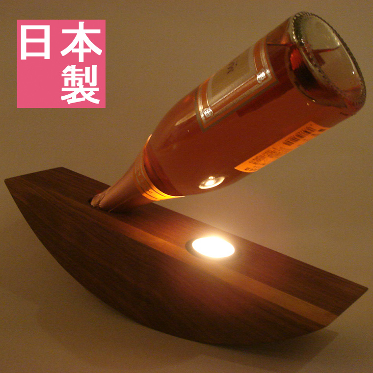 『 テーブルライト 』テーブルランプ 間接照明 インテリアライト 卓上ランプ インテリアランプ フロアライト 卓上照明 ムード照明 卓上ライト オシャレ おしゃれ 和室 モダン 和風 ワイン お酒 ゆれる 木製 ボトル ウォールナット