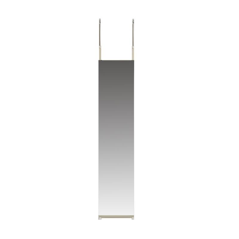 つっぱりミラー 幅40cm つっぱりミラー ミラー 鏡 かがみ カガミ 壁面ミラー 壁面鏡 突っ張りミラー 姿見 全身鏡 全身ミラー 玄関ミラー 玄関鏡 突っ張り式ミラー つっぱり式ミラー つっぱり 突っ張り 壁面 スリム 省スペース シンプル 幅40cm おしゃれ 玄関