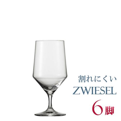正規品 SCHOTT ZWIESEL PURE ショット・ツヴィーゼル ピュア 『ウォーター 6脚セット』ワイングラス セット 赤 白 白ワイン用 赤ワイン用 割れにくい ギフト 種類 ドイツ 海外ブランド 112842 ワイン セット クリスタル 水飲みグラス 父の日