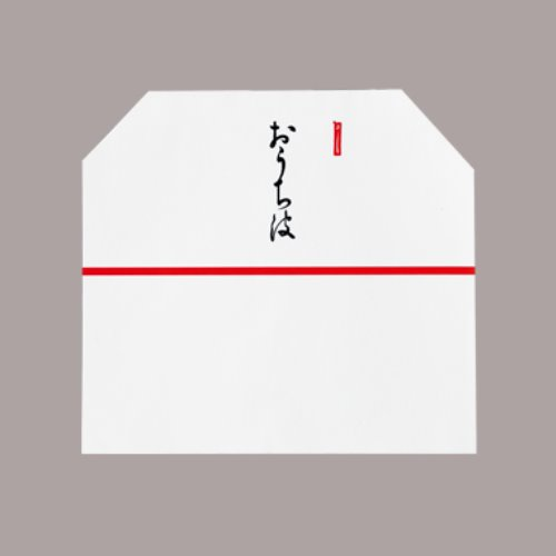 うちわ箱・袋 和紙並型うちわ袋(100枚入) まとめ買い5本