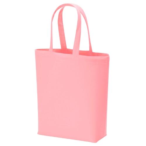 名入れ コットンバッグ(M) ピンク