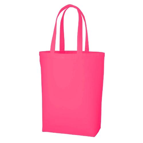名入れ ポリキャンパストート(M)ピンク