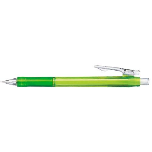 名入れシャープペン タプリクリップ シャープ 緑