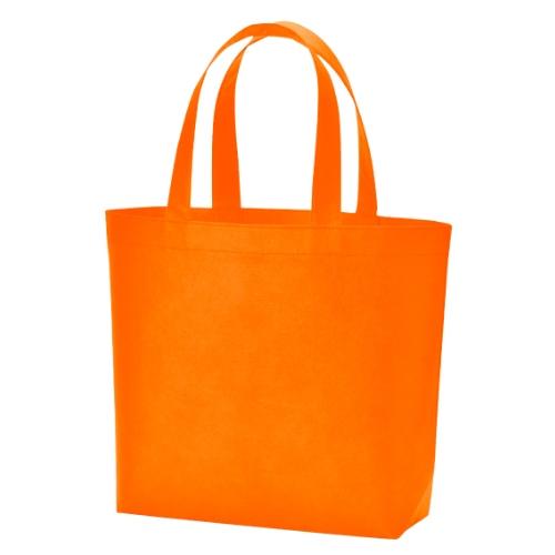 名入れ 不織布スタンダードバッグ オレンジ