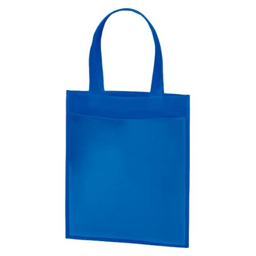 名入れ 不織布プロモーションバッグ ブルー