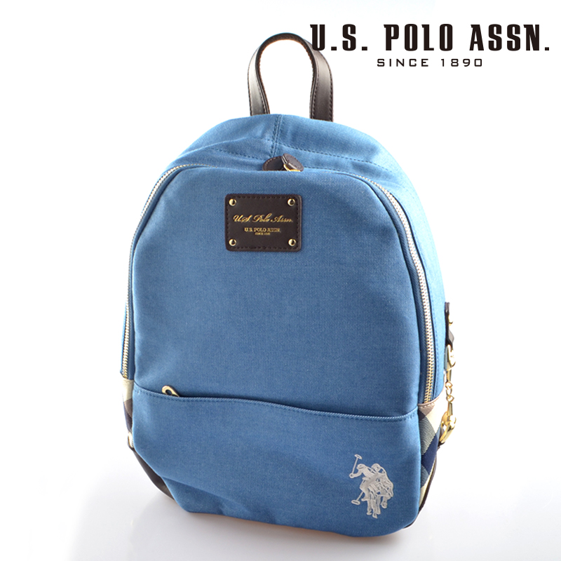 【d送料無料】US POLO ASSN 689370 USPA-2604 ライトブルー バックパック 【新品・正規品・送料無料】 ギフト 【】