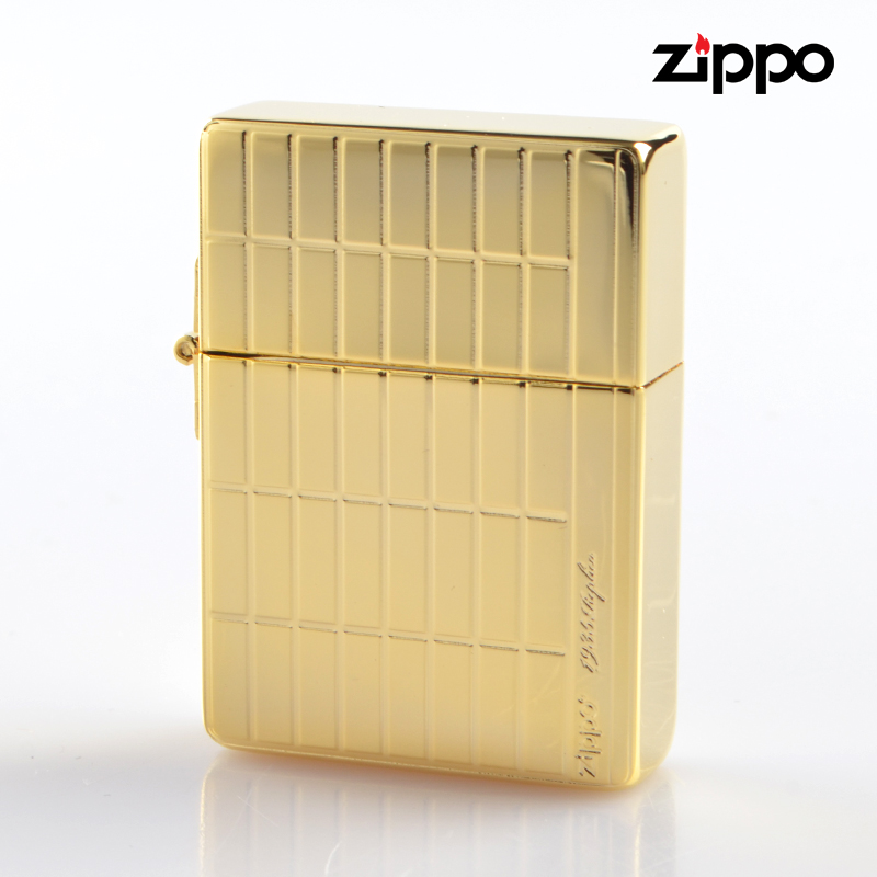【m送料無料】ZIPPO 1935Replica 1935sq-gp スクエア ゴールドメッキ両面加工 ジッポーオイルライター【新品・正規品】 【】