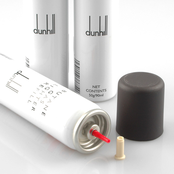 Dunhill lighters-gas canister 3 piece set