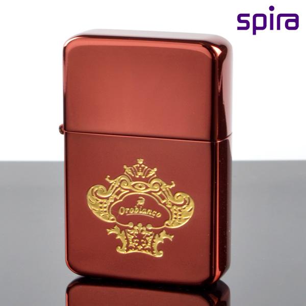スパイラ USB充電バッテリーライター OSP-101RED オロビアンコ レッド チタンコーティング osp-101red 【新品・正規品・送料無料】 ギフト 【】