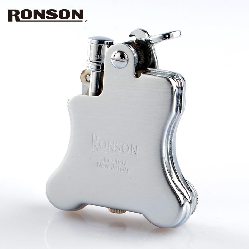 ロンソン オイルライター バンジョー r010025 [RONSON] クロームサテン 【新品・正規品・送料無料】 ギフト 【】