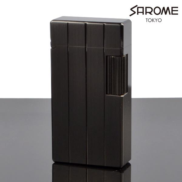 サロメ フリントライター SD1-48 黒ニッケルヘアライン ダイヤカット sarome ブランド ライター sd1-48【新品・正規品・送料無料】 ギフト  【】:Import Rin Rin