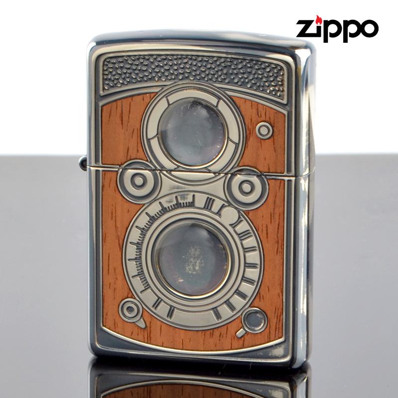 【f送料無料】FCZP Zippo ジッポライター 1201s565 アンティークDLRカメラSV 両面加工 【新品・正規品】 【】