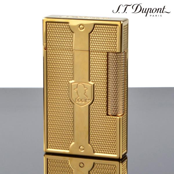 デュポン ライン2 LIGNE2 (限定) 16024 ハンフリー ボガート ゴールド(ガス1本・フリント1シート特典付) デュポン ライター[Dupont] ブランド ライター フリントライター【新品・正規品・送料無料】 ギフト