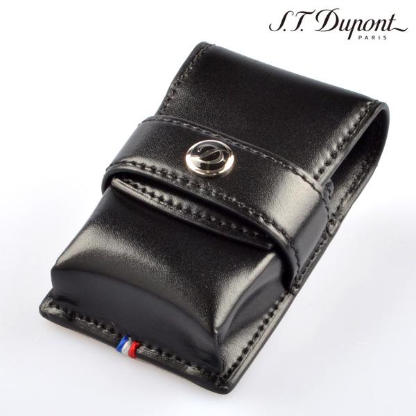 【送料無料】デュポン 180024 レザーライターケース ブラック LIGHTER CASE デュポンライター[Dupont] ブランド ライター ライターケース【新品・正規品】 【】