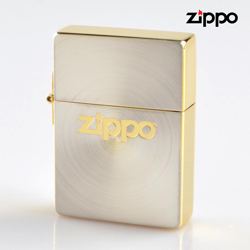 Zippo ジッポライター 1935sgsp-zl 1935スピン Zippoロゴ シルバー ゴールド【新品・正規品・送料無料】 ギフト 【】
