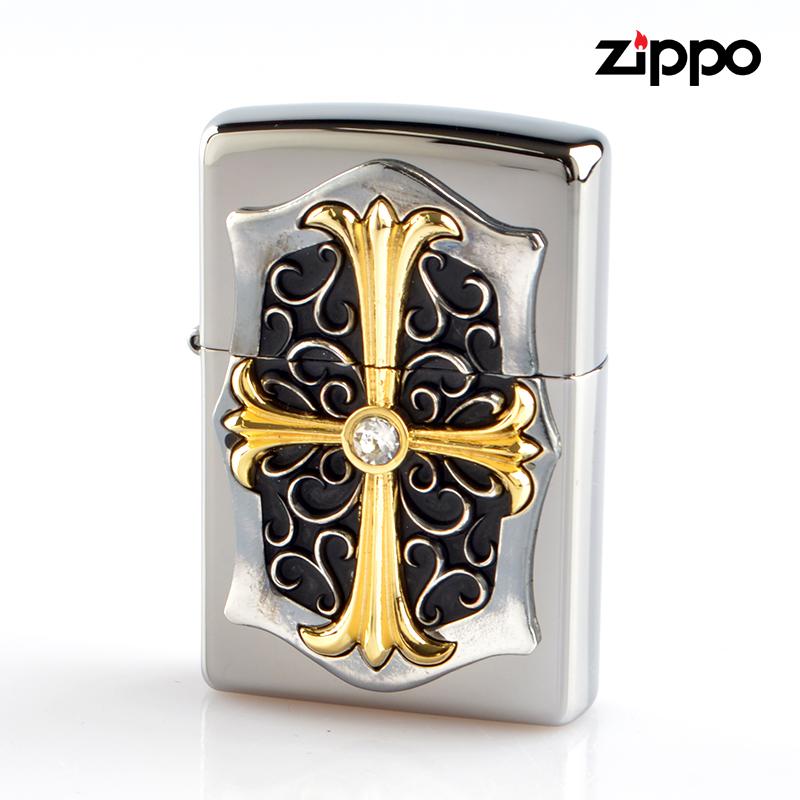 Zippo ジッポライター 25m-bcross 25M-BCROSS コンビネーションメタル【新品・正規品・送料無料】 ギフト 【】
