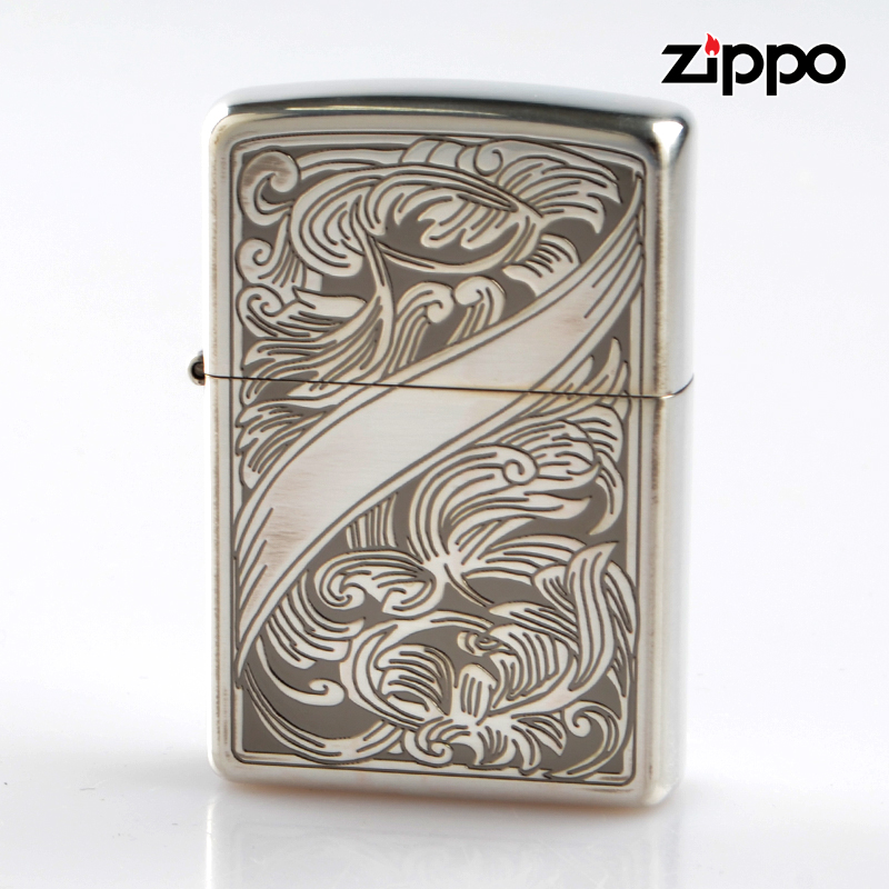 【f送料無料】Zippo ジッポライター 2si-arabesque 両面加工 アラベスク【新品・正規品】 【】