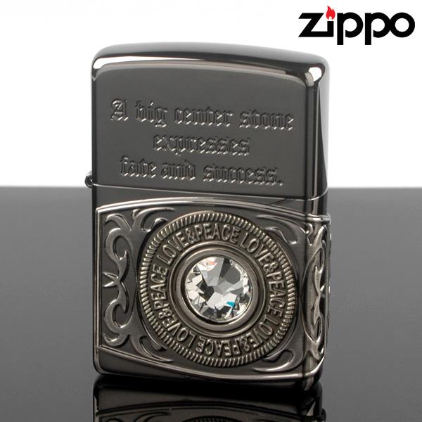 【m送料無料】ZIPPO 68354-10000033 スワロクラスリング-BN ジッポー ライター 【新品・正規品】 【】