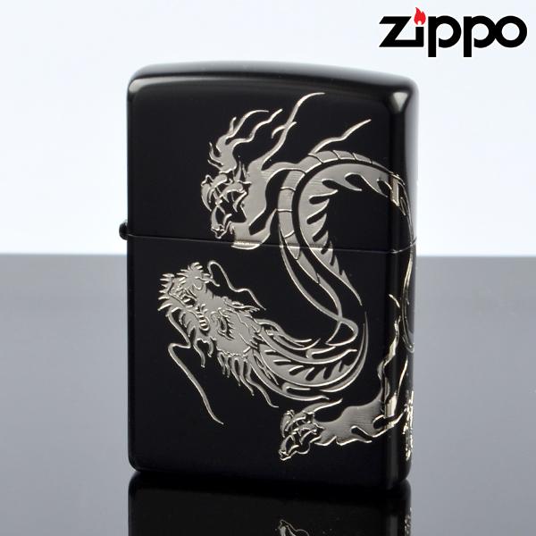 Zippo ジッポライター zp623962 ドラゴンソウル ブラック&シルバー 【新品・正規品・送料無料】 ギフト 【】