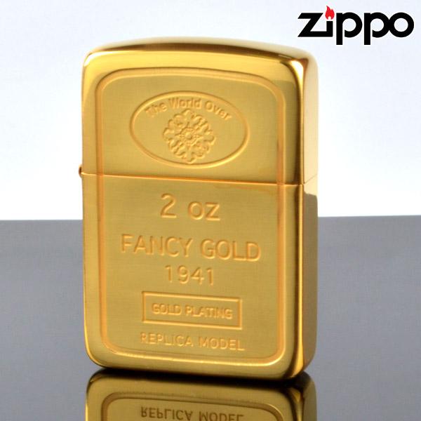 【m送料無料】Zippo ジッポライター zp62880198 1941インゴット 24金メッキ エッチング加工 【新品・正規品】 【】