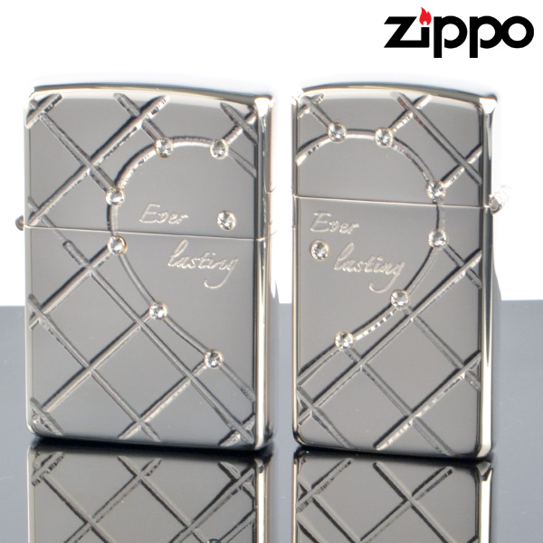 ZIPPOペア#200 #200 ハート オブ グラス HG-SP ペアzippo ジッポーライター 【新品・正規品・送料無料】 ギフト 【】