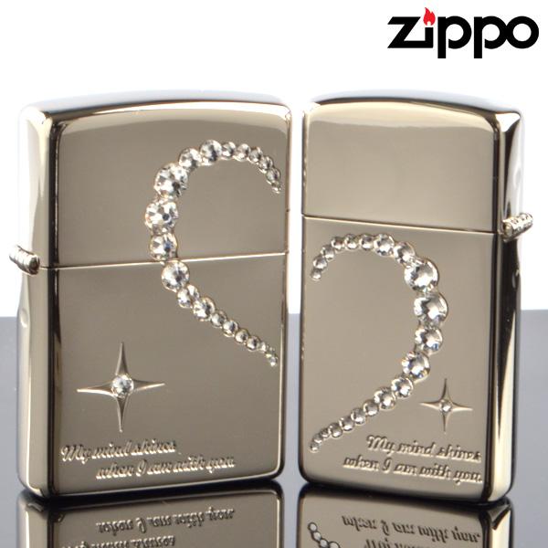 ZIPPOペア#200 #200 マジカルトリックペアシリーズ MMWH-NIP ダブルハート ジッポーライター 【新品・正規品・送料無料】新生活 ギフト 【】