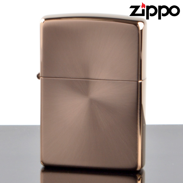 【y送料無料】 ZIPPO#200 ブラウン ラジアル (10020097) ジッポーライター 【新品・正規品】 【】