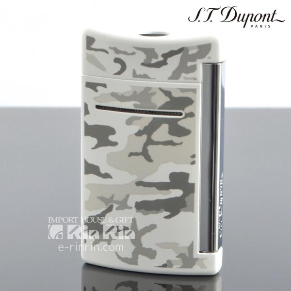 【送料無料】デュポン 10089 ミニ・ジェット(X・tend mini) Minijet ホワイト カモフラージュラッカ クロム デュポンライター (Dupont) ターボライター 【新品・正規品】 【】