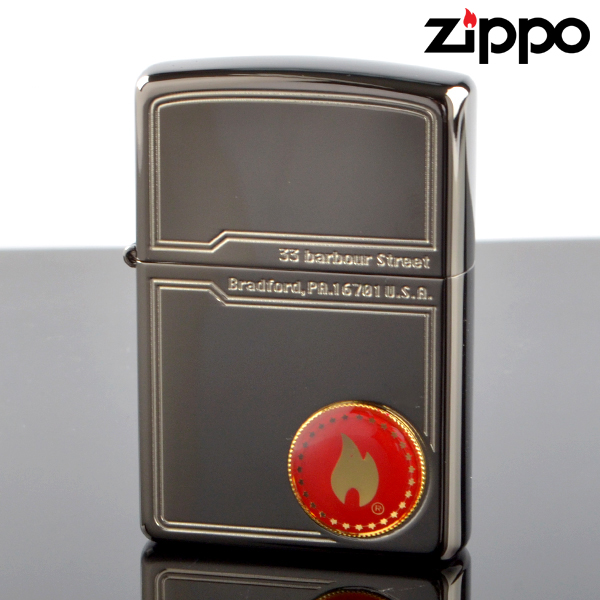 【f送料無料】fukashiro ZIPPO ジッポライター 1201s511 FCZP ファイヤーフレームメタルBK【新品・正規品】 【】