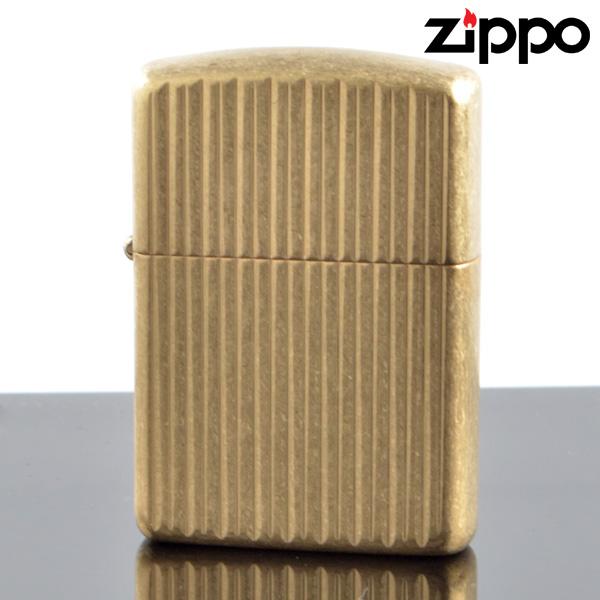 ZIPPO#162 アーマージッポー Tumbled Brass タンブルブラス USAオリジナルZIPPO (28638zp) 【新品・正規品・送料無料】 ギフト 【】