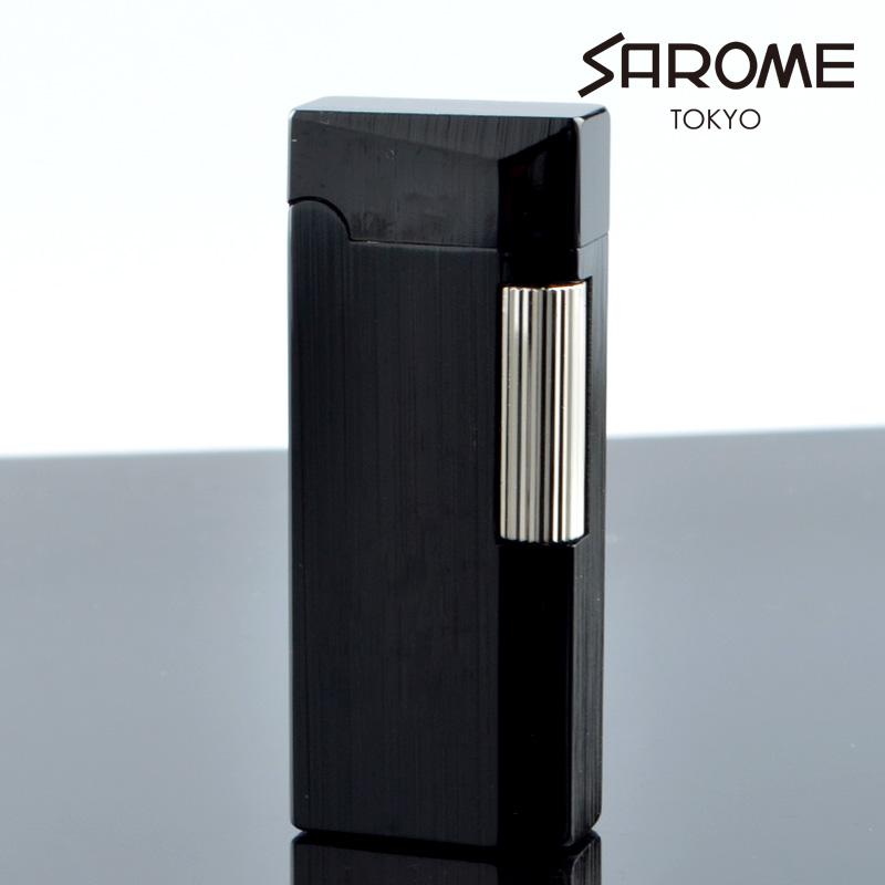 サロメ フリントガスライター SD41-04 ブラック sarome ブランド ライター sd41-04【新品・正規品・送料無料】 ギフト 【】
