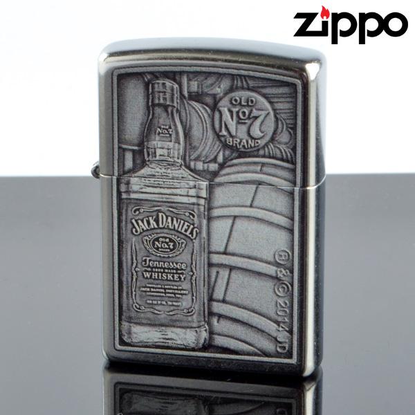 Zippo 10010004 ZIPPO JACKDANIELS プリント加工 ジッポライター 【新品・正規品・送料無料】 ギフト 【】