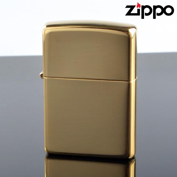 Zippo ジッポライター zp254b スタンダード ブラスポリッシュ オイルライター 【新品・正規品・送料無料】 ギフト 【】