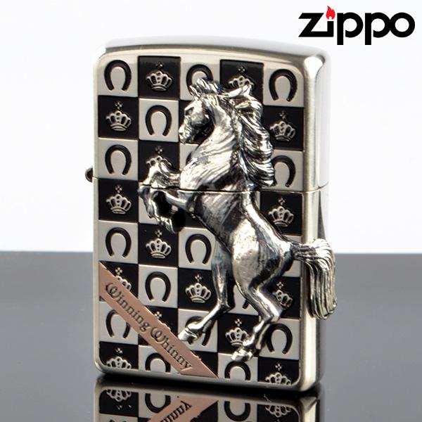 【送料無料・新品・正規品】Zippo ジッポライター zp626901 ウィニングウィニー グランドクラウン SV【】