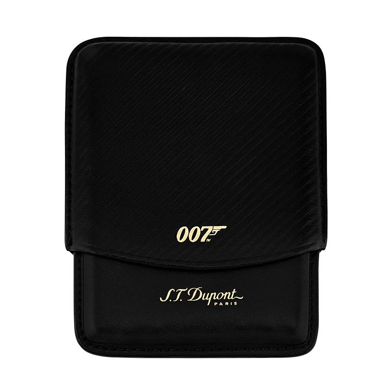 デュポン ジェームズ・ボンド 007 シガレットケース ブラック【新品・正規品・送料無料】 ギフト 【】