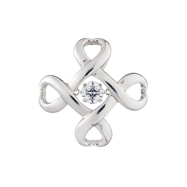 クロスフォー タイニーピン NYT-001 Crossfor Logo4 Dancing Stoneシリーズ Crossfor NewYork【新品・正規品・送料無料】 ギフト 【】