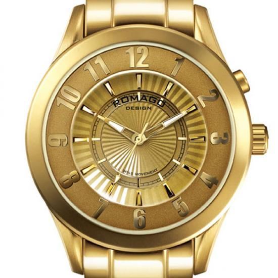 ROMAGO DESIGN[ロマゴデザイン] RM028-0287AL-GD Superleger RM028 series ミラー文字盤 クォーツ 腕時計 ブランド ファッション 腕時計 【新品・正規品・送料無料】 ギフト 【】